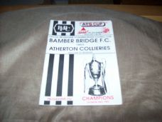 Bamber Bridge v Atherton Colleries, 1992/93 [ATS]
